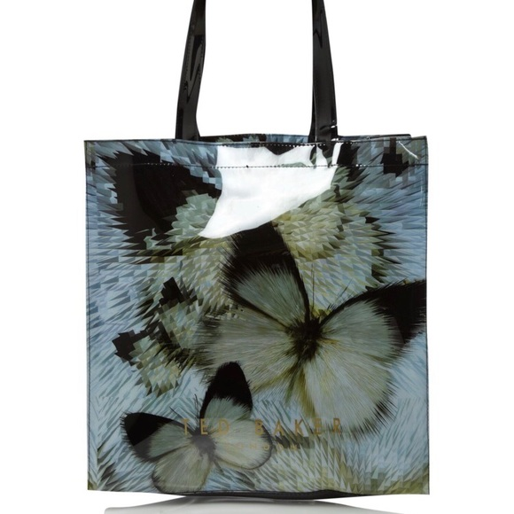 e0de1a656095 Ted Baker s Blue Butterfly Large Bowcon Tote Bag. M 5acd9c211dffda7d8015cd9c